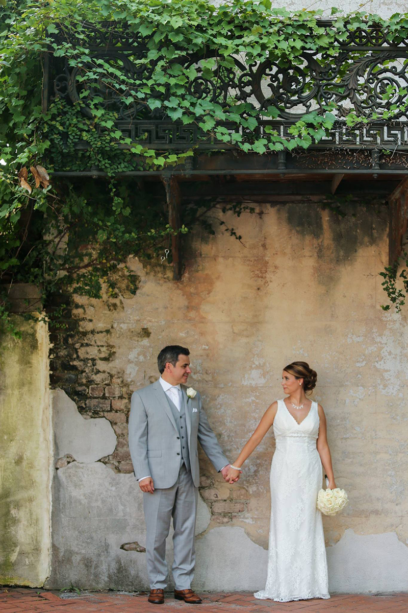 Historic Downtown Savannah Elopement