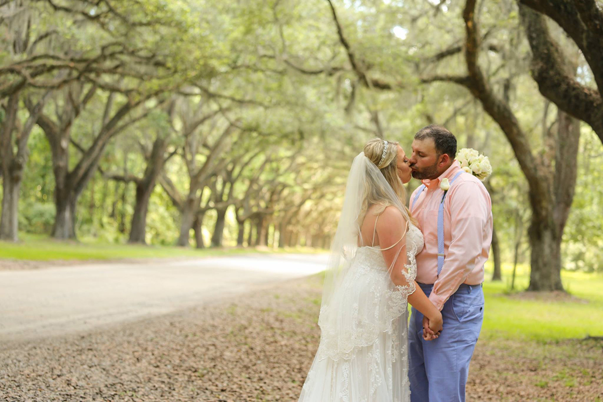 Elopement at Wormsloe Plantation