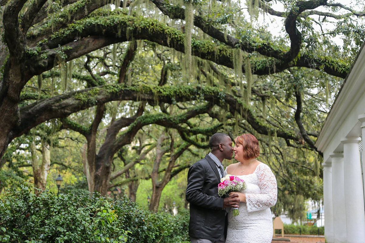 Cheap Elopement Savannah GA
