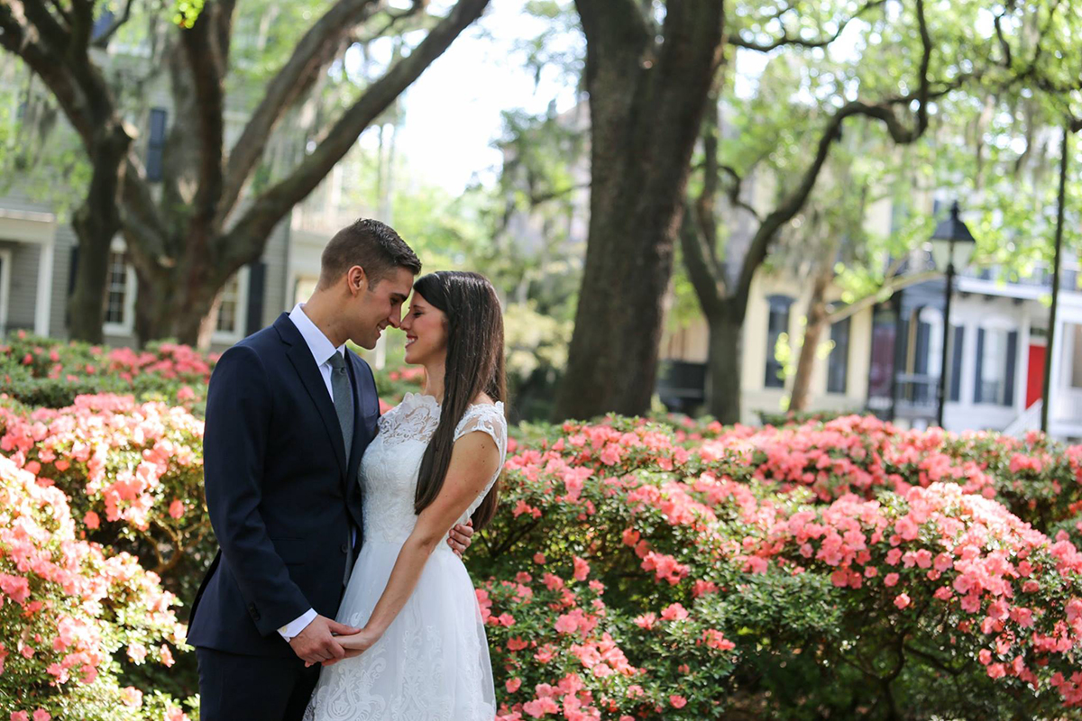 Spring Elopement Savannah GA